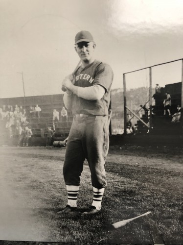 Denver played baseball at Eastern Oregon College of Education under coach Bob Quinn, graduating in 1948
