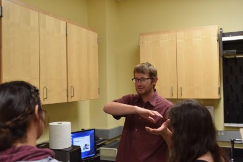 Colby Heideman chemistry professor