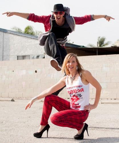 Choreographers Billy and Mishka
