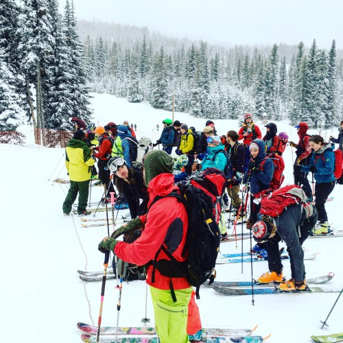 backcountry ski race EOBF 2018
