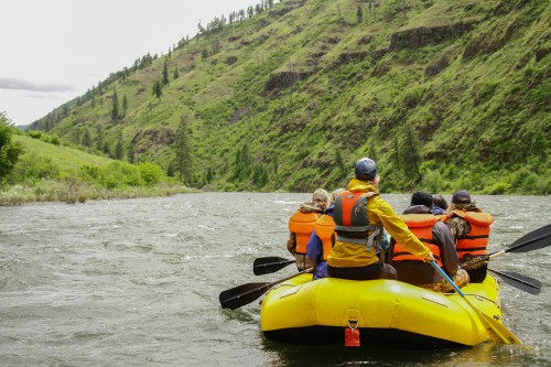 Wallowa River rafting