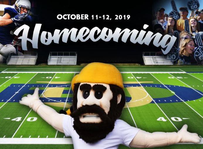 Homecoming October 11-12, 2019