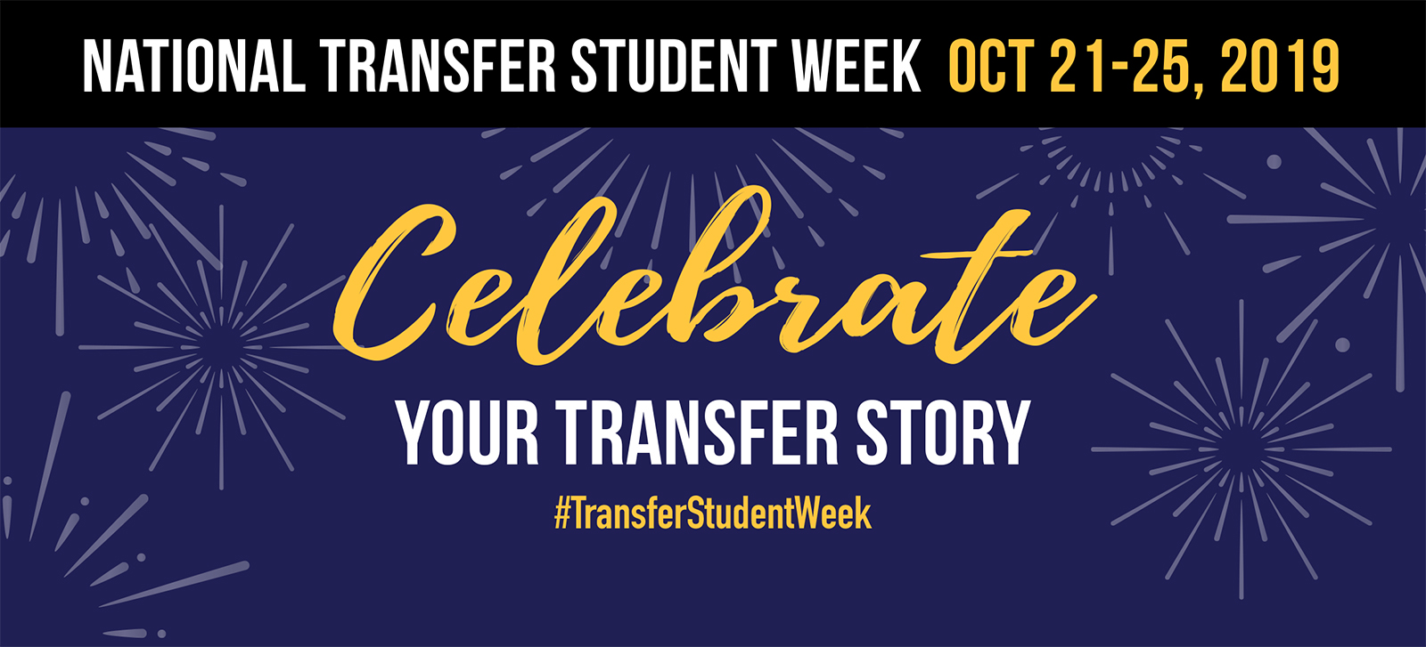 National Transfer Week October 21-25, 2019