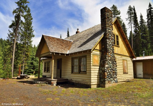 Lick Creek - Guard Station - Eastern Oregon