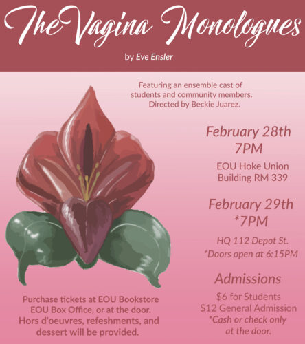The Vagina Monologues at EOU
