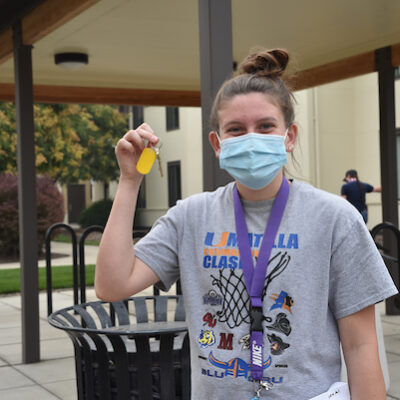 Masked, moved-in and motivated at EOU