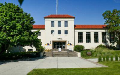 Pierce Library in 2019