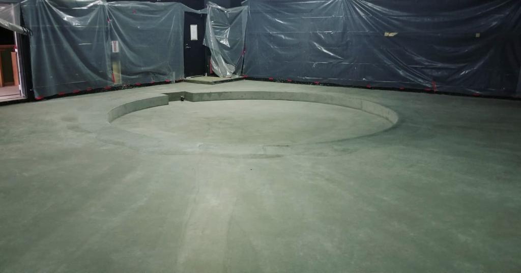 Schwarz Theatre under construction
