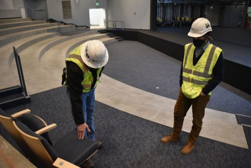 Performing arts building debuts with high-tech upgrades