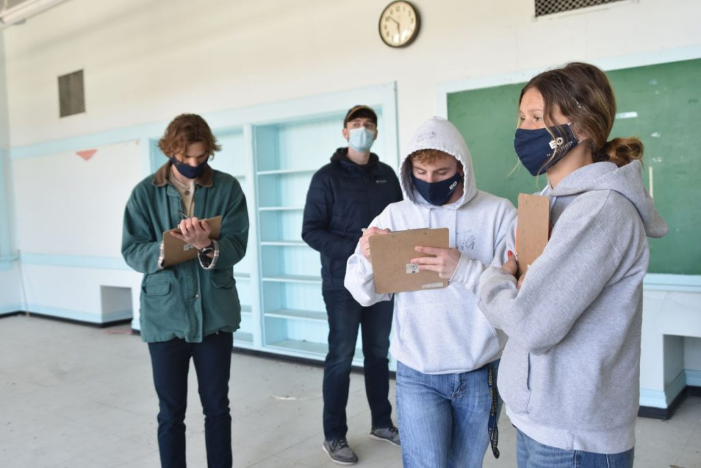 Students get first-hand look at local restoration project