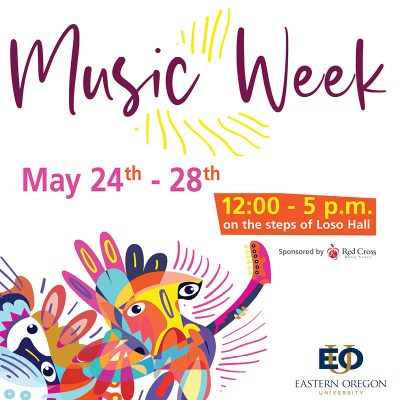 EOU hosts outdoor Music Week May 24-28