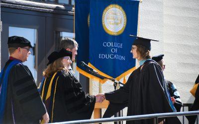 College of Education graduate in 2021