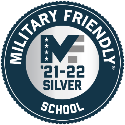 Military Friendly School Badge 2021 2022
