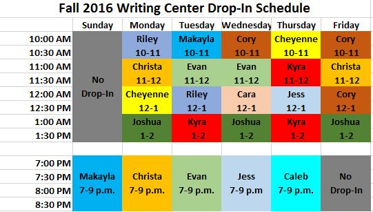 Drop-In Tutoring Schedule_final